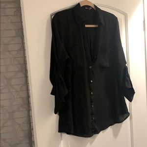 express sheer portofino essential shirt